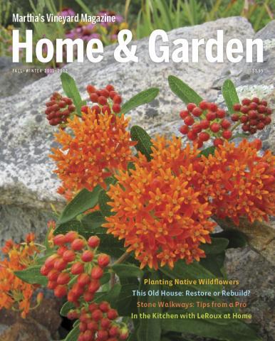 Martha's Vineyard Magazine Fall Winter Home and Garden 2011-12 Cover