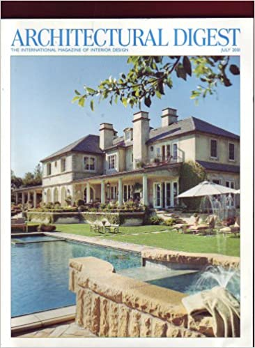 Architectural Digest July 2001 cover
