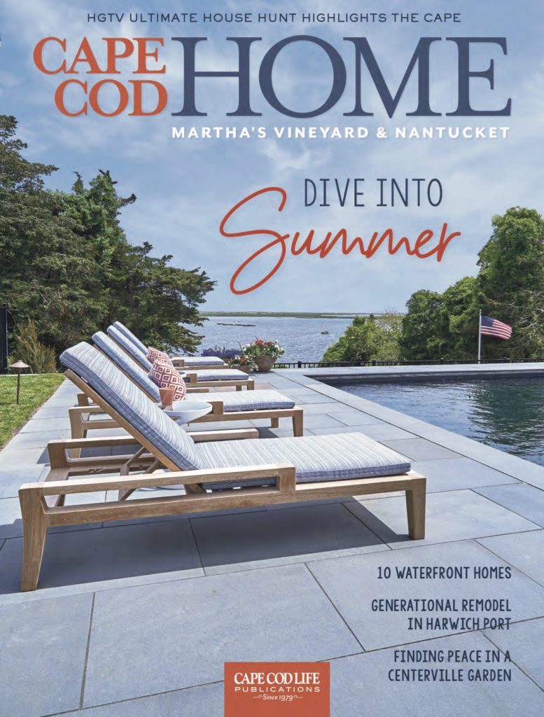 Cape Cod Home Summer 2019 Issue Cover